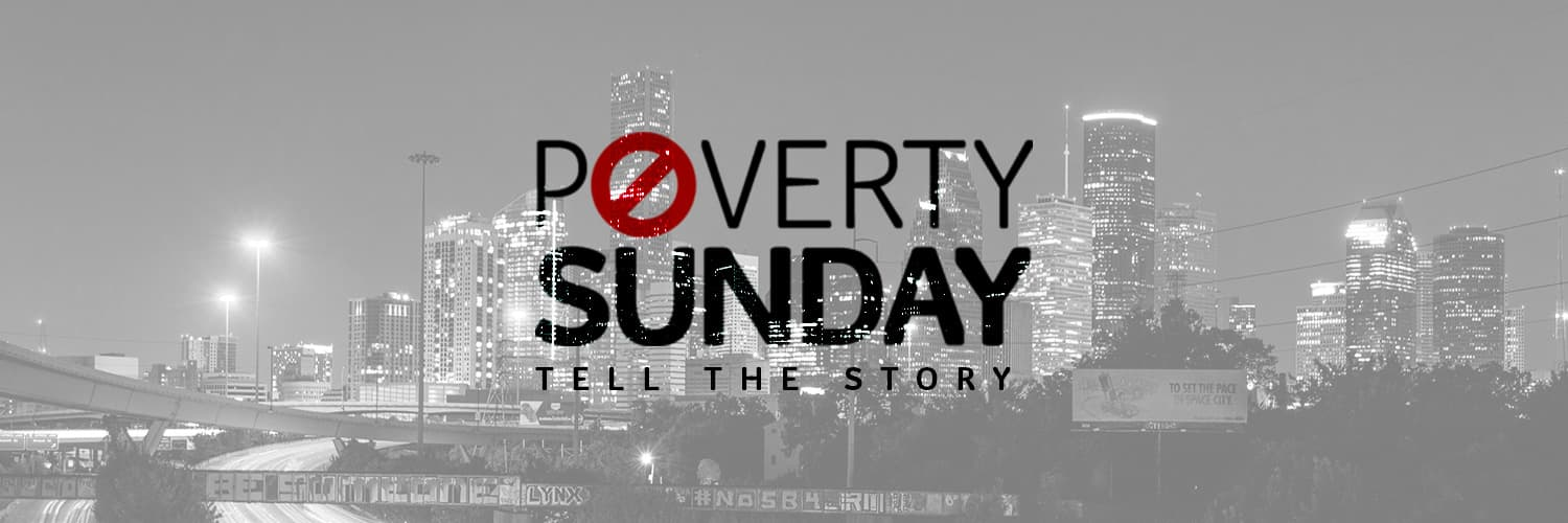 Poverty Sunday Twitter Cover Photo