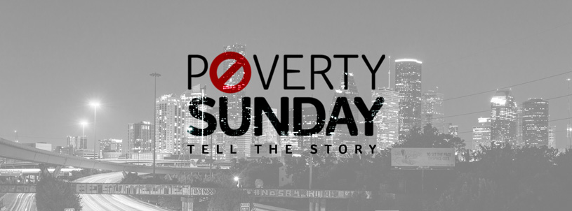Poverty Sunday Facebook Cover Photo