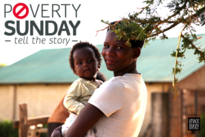 Poverty Sunday - 6x4 print