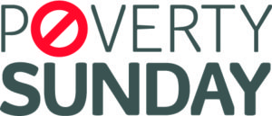 Poverty Sunday Logo - White Background